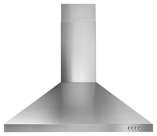 "Whirlpool WVW53UC0FS 30"" Contemporary Wall Mount Range Hood in Stainless Steel"