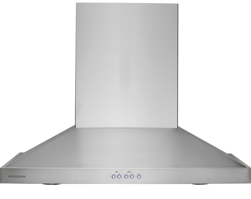 GE Monogram ZV830SMSS 30 inch 500 CFM 4 Speed Recirculated Range Hood