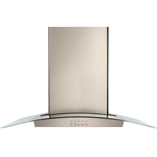 "Whirlpool WVWA5UC0HN 30"" Modern Glass Wall Mount Range Hood - Sunset Bronze"
