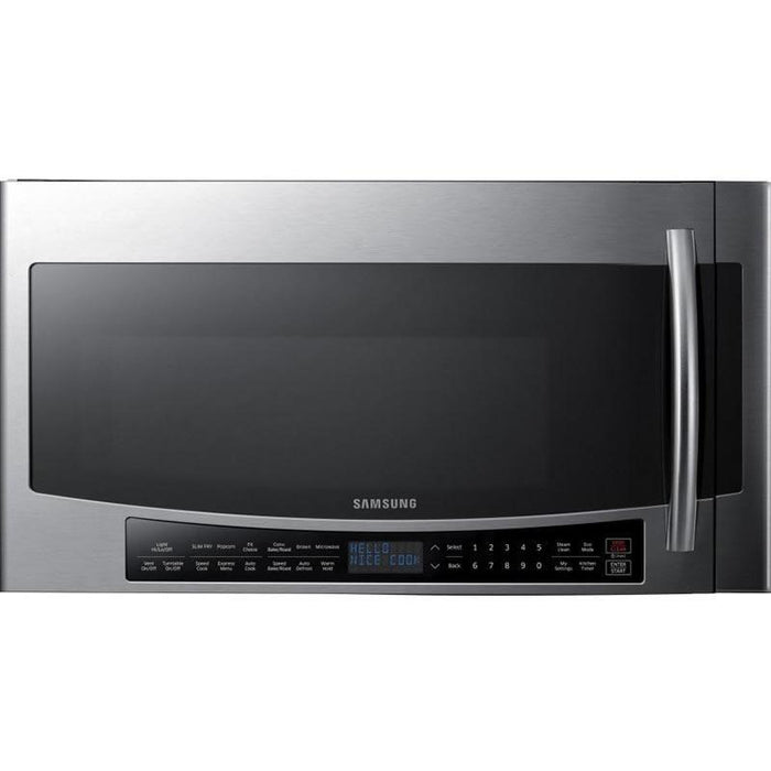 Samsung MC17J8100CS/AC 1.7 cu.ft Over the Range Microwave in Stainless Steel