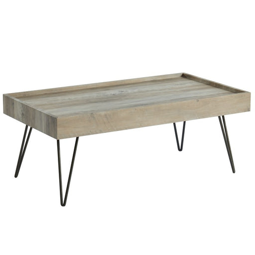 Worldwide 301-474GY Vista Coffee Table in Antique Grey (Each)