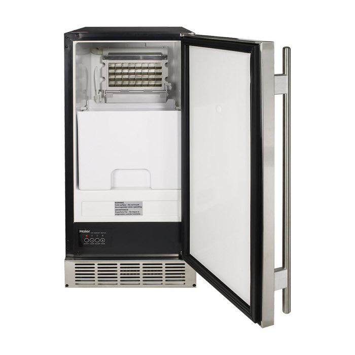 Haier Under Counter Ice Machine with Large Removable Storage Bin - Refrigerator - HAIER - Topchoice Electronics