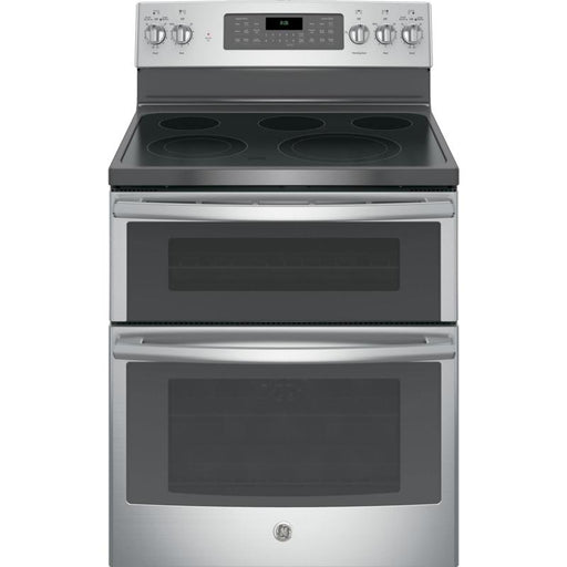 GE JCB865SJSS 6.6 cu. ft. Free-Standing Double Oven Electric Range in Stainless Steel - Range - Topchoice Electronics - Topchoice Electronics