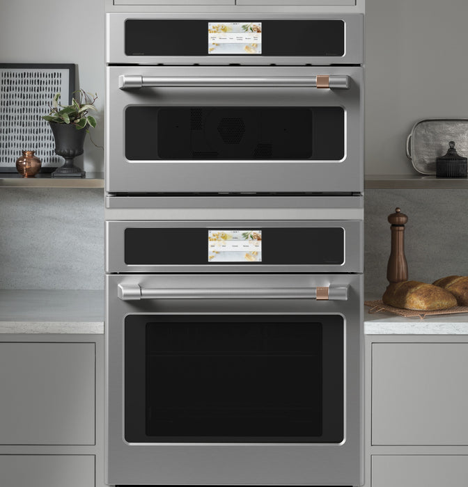 GE Café™ CKS70DP2NS1 27-Inch Built-In Single Electric Convection Wall Oven In Stainless Steel