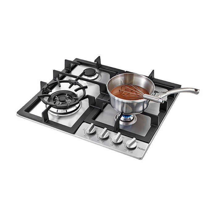 Haier 24 inch Gas Cooktop 4 Burners Stainless - Cooktop - HAIER - Topchoice Electronics