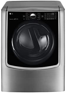 LG DLEX9000V 9.0 Cu. Ft. Large Smart Wi-Fi Enabled Electric Dryer With TurboSteam in Graphite Steel