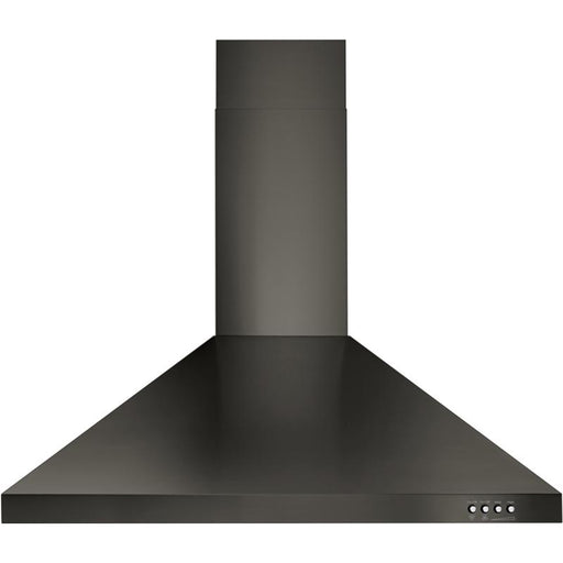 "Whirlpool WVW53UC0HV 30"" Contemporary Wall Mount Range Hood in Black Stainless"