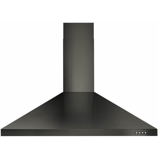 "Whirlpool WVW53UC6HV 36"" Contemporary Wall Mount Range Hood in Black Stainless"