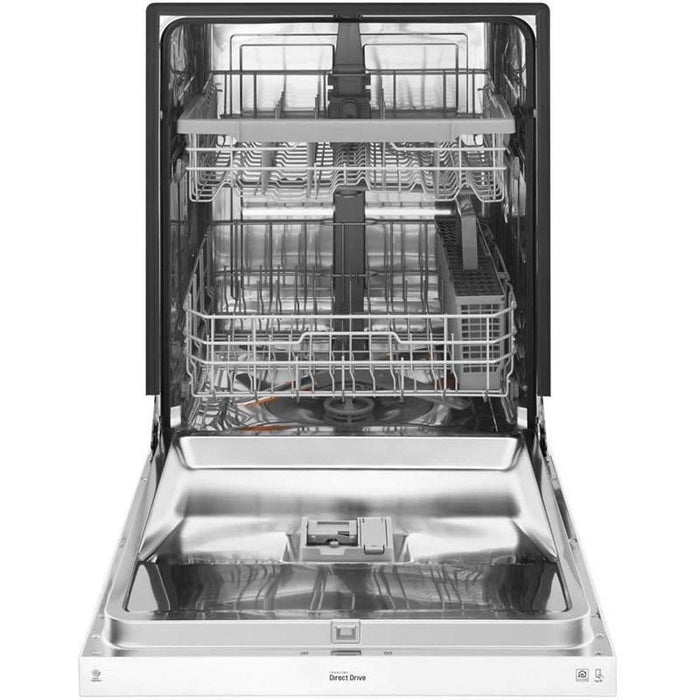LG LDF5545WW Front Control Dishwasher With QuadWash and EasyRack Plus in White