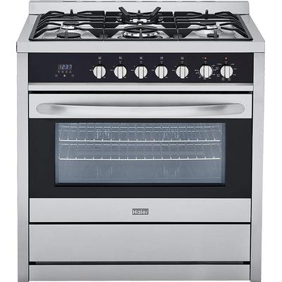 Haier 36 inch Gas Manual Clean Free Standing Range - Cooking Range - HAIER - Topchoice Electronics