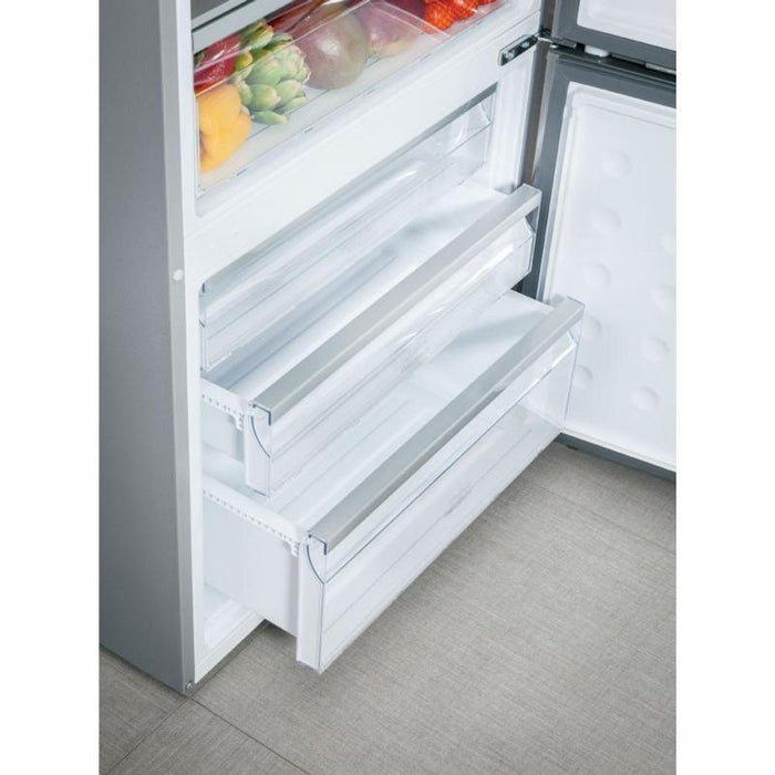 Haier 28 Inch wide Bottom Mount Swing Door Refrigerator - Refrigerator - HAIER - Topchoice Electronics