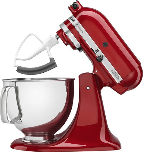 KitchenAid - KFE5T Tilt-Head Flex Edge Beater - White - Attachments - KitchenAid - Topchoice Electronics
