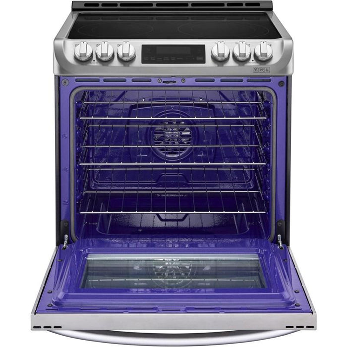 LG LSE5613ST 6.3 Cu. Ft. Slide-in Electric Range In Stainless Steel