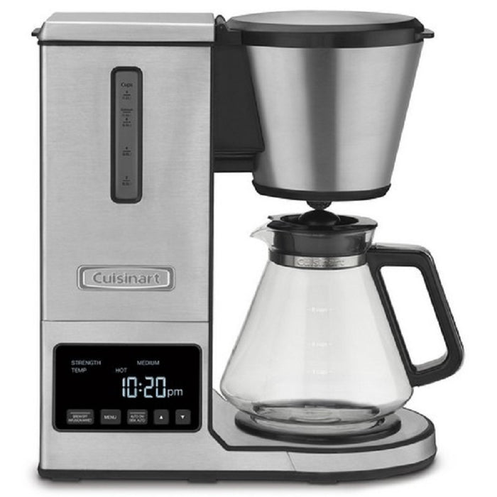 Cuisinart CPO-800C PurePrecision 8-Cup Pour-Over Coffee Brewer (Glass Carafe)