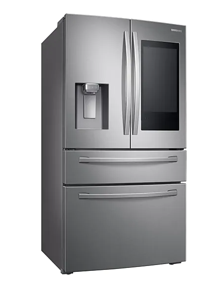 "Samsung RF28R7551SR/AC 28 cu. ft. 4-Door French Door Refrigerator with 21.5"" Touch Screen Family Hub in Stainless Steel"