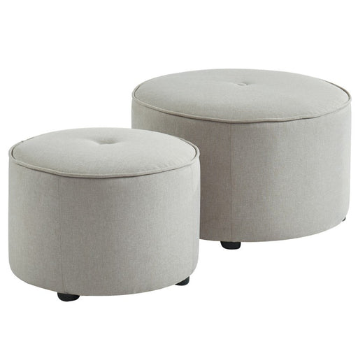 Worldwide Etro 2pc Round Ottoman Set (Each)