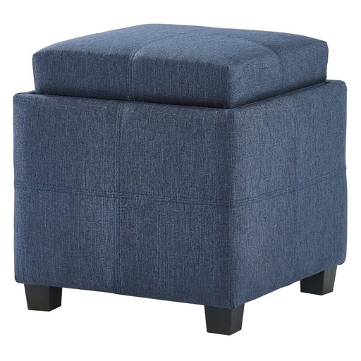 Worldwide Luxy Square Storage Ottoman (Each)