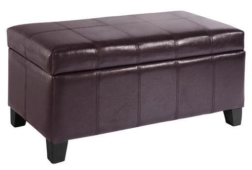 Worldwide Bella Rectangular Storage Ottoman (Each)