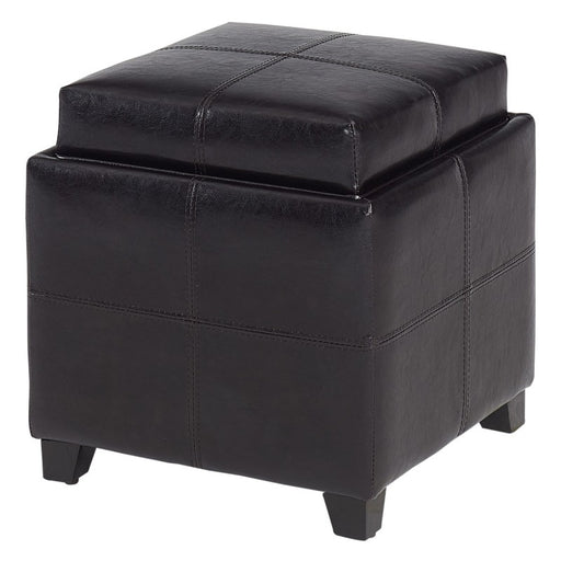 Worldwide Anton II Square Storage Ottoman (Each)