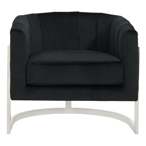Inspire Tarra 403-239BK Accent Chair in Black (Each)