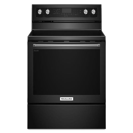 KitchenAid YKFEG500EBS Freestanding Electric Convection Range - Black Stainless Steel - Range - KitchenAid - Topchoice Electronics