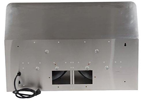 MaxAir MXR-Y01 30 inch wide Ultra Quiet 320 CFM Ducted Under Cabinet Range Hood - Stainless Steel - Range Hood - MaxAir - Topchoice Electronics
