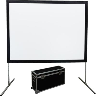 EluneVision Fast-Fold Front and Rear projection screen EV-FF-165S-FR