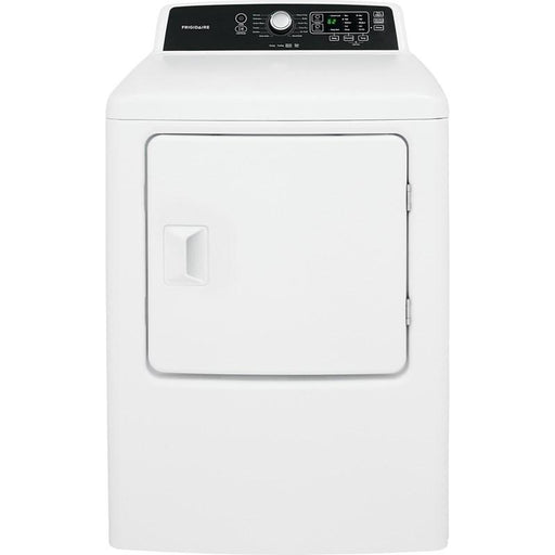 Frigidaire CFRE4120SW 6.7 Cu. Ft. High Efficiency Free Standing Electric Dryer In White