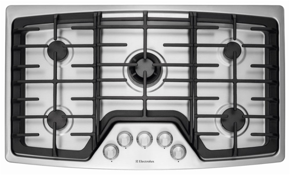 Electrolux EW36GC55PS 36'' Gas Cooktop - Stainless Steel - Cooktop - Electrolux - Topchoice Electronics
