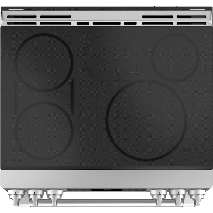 GE CAFÉ CCHS995SELSS 30-INCH SLIDE-IN ELECTRIC RANGE - Stainless Steel - Range - GE CAFE - Topchoice Electronics