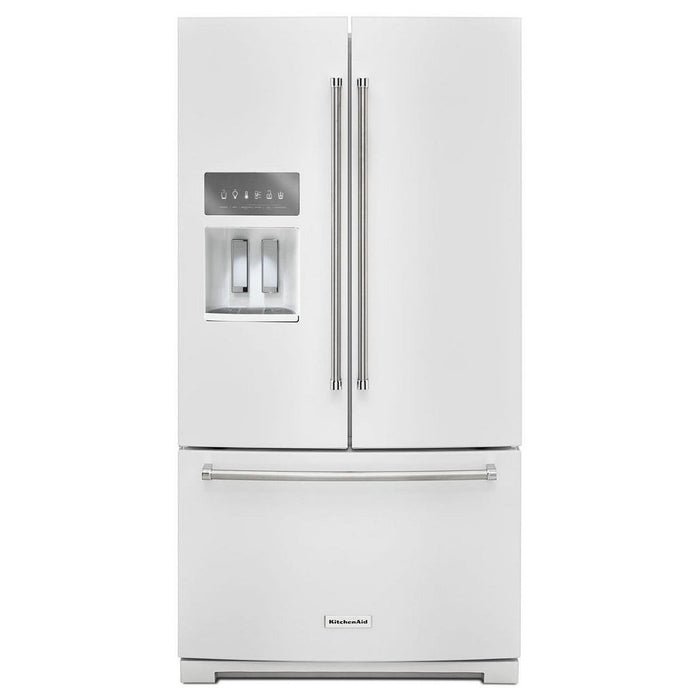 "KitchenAid 36"" French Door Refrigerator with Exterior Ice and Water - Refrigerator - KitchenAid - Topchoice Electronics"