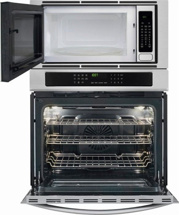 Frigidaire Gallery FGMC3065PF 30'' Electric Wall Oven/Microwave Combination - Stainless Steel - Smudge Proof - Combination Oven - Frigidaire Gallery - Topchoice Electronics