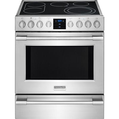Frigidaire Professional CPEH3077RF 30'' Electric Front Control Freestanding - Stainless Steel - Smudge Proof - Range - Frigidaire Professional - Topchoice Electronics