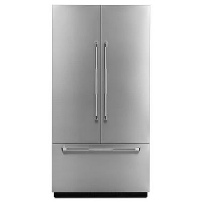 "Jenn_air JBFFS42NHP 42"" Built in Bottom Mount French Door Panel - Pro Style Stainless Steel Handle - Refrigerator - Jenn-Air - Topchoice Electronics"