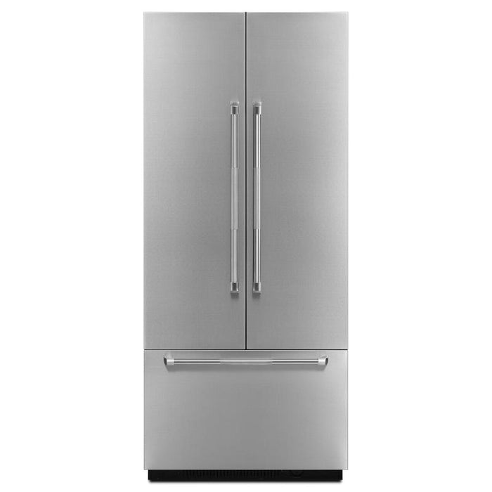 "Jenn-Air JBFFS36NHP  36"" Built in Bottom Mount French Door panel - Pro Style Stainless Steel Handle - Refrigerator - Jenn-Air - Topchoice Electronics"