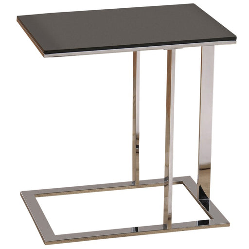 Worldwide 501-410 Mod Accent Table In Chrome/Black (Each)