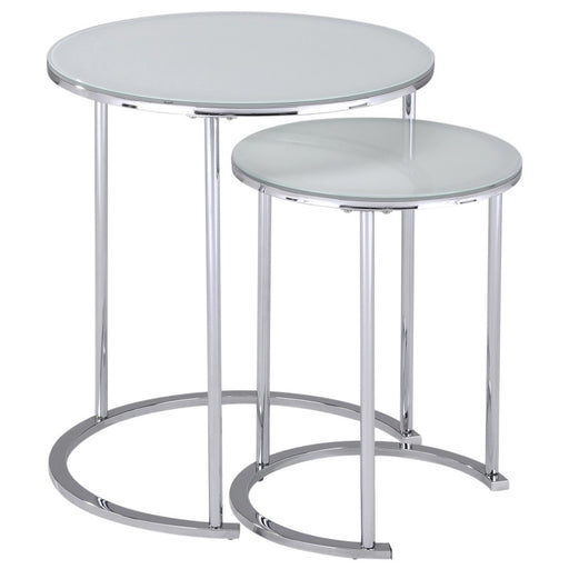 Worldwide 501-493WT Oslo Accent Table in White (Each)