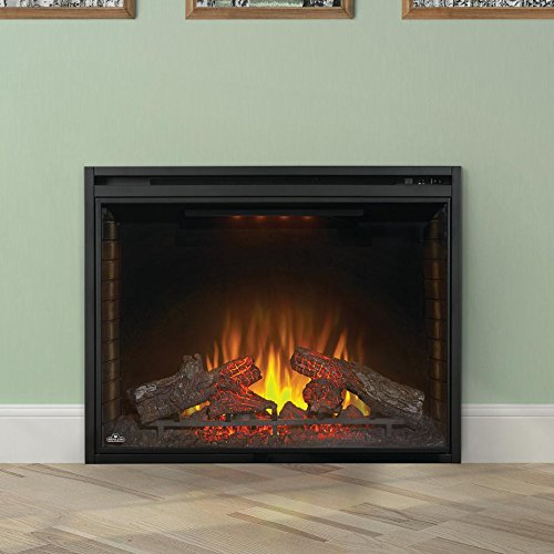 Napoleon NEFB40H Electric Fire place Ascent Electric 40 inch - Black - Fireplace - Napoleon - Topchoice Electronics
