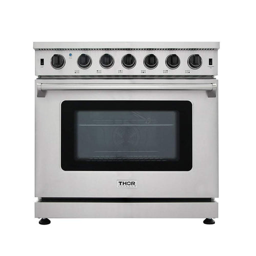 Thor Kitchen LRG3601U 36 inch Professional Gas Range