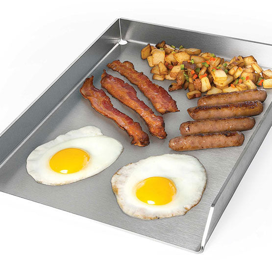 Napoleon PRO Stainless Steel Griddle for Large Grills - BBQ Accessories - Napoleon - Topchoice Electronics