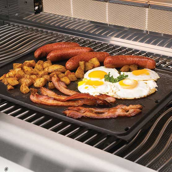 Napoleon Cast Iron Reversible Griddle for Large Grills - BBQ Accessories - Napoleon - Topchoice Electronics