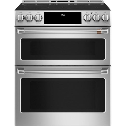 GE Cafe CCHS950P2MS1 30-Inch Smart Slide-in Electric Range with 5 Elements In Stainless Steel