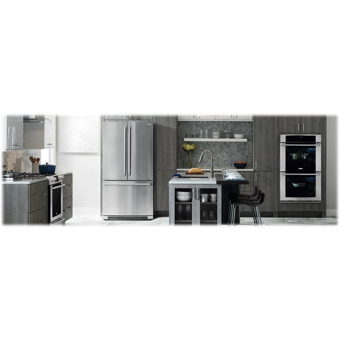 Electrolux EI23BC82SS Counter-Depth French Door Refrigerator with IQ-Touch™ Controls - Stainless Steel - Refrigerator - Electrolux - Topchoice Electronics