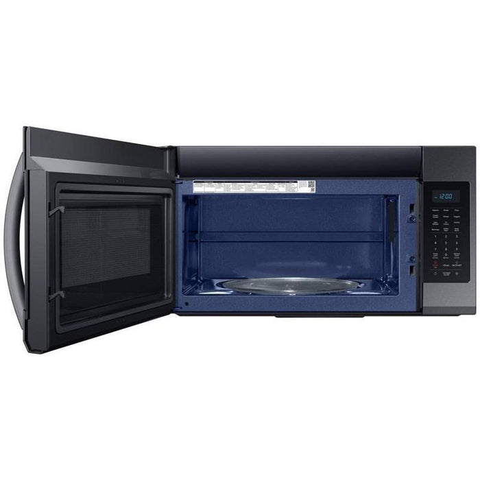 Samsung ME19R7041FG/AC 1.9 cu. ft. Over The Range Microwave - Black Stainless Steel