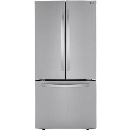 LG LFNS22530S 30-Inch 22 Cu. Ft. French Door Refrigerator with Smart Cooling System in Stainless Steel