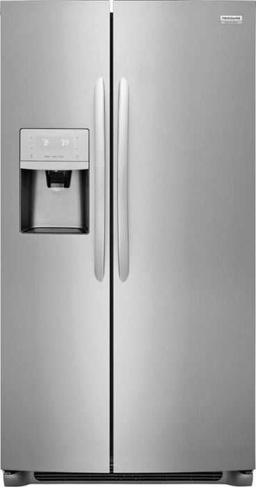 Frigidaire Gallery FGSS2635TF 25.5 Cu. Ft. Side-by-Side Refrigerator - Stainless Steel - Smudge Proof - Refrigerator - Frigidaire Gallery - Topchoice Electronics