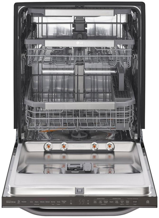 LG LSDT9908BD Top Control Smart Wi-Fi Enabled Dishwasher With QuadWash in Black Stainless Steel