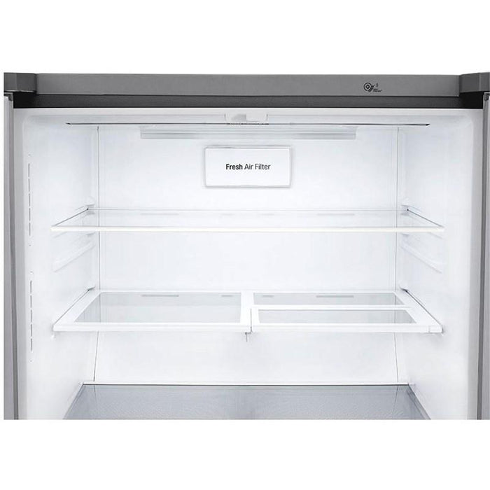 LG LRMXC1813S 33-Inch 18.3 Cu. Ft. Counter Depth 4-Door Refrigerator in Stainless Steel