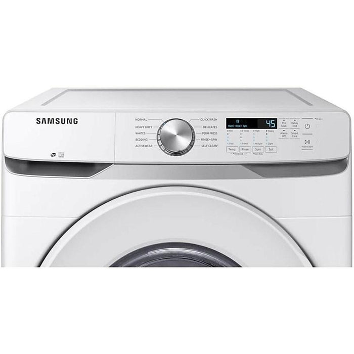Samsung WF45T6000AW/A5 5.2 cu.ft. Front Load Washer with Shallow Depth in White