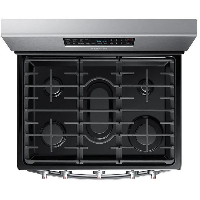 Samsung NX58T5601SS/AC 5.8 cu. ft. Gas Range in Stainless Steel